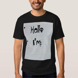 Hello I'm... Tee Shirts