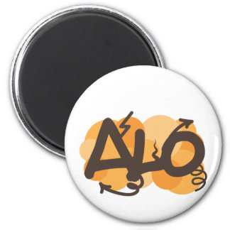 Hello in Creole - alo 6 Cm Round Magnet