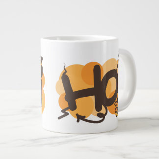Hello in Dutch hoi graffiti Large Coffee Mug