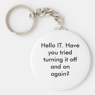 Hello IT Keychain