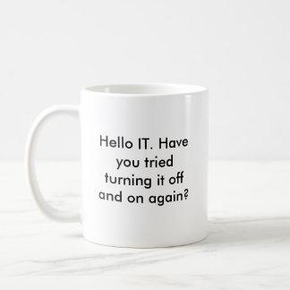 Hello IT Mug