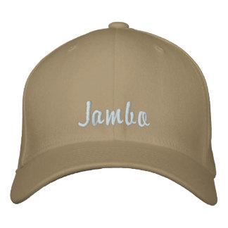 Hello Jambo Swahili Kenya greeting pink Baseball Cap
