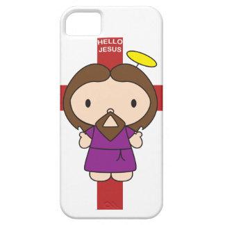 Hello Jesus iPhone 5 Covers