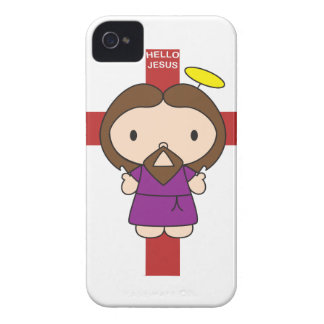 Hello Jesus Case-Mate iPhone 4 Cases