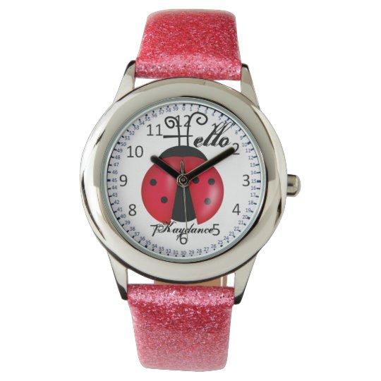 Hello Kaydance Lady Bug Watch
