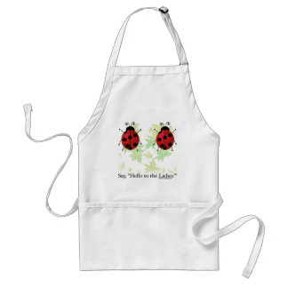 Hello Ladies Standard Apron