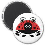 Hello Ladybug Refrigerator Magnets