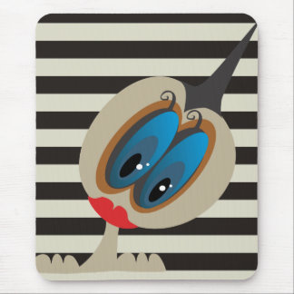 Hello Little Birdie Mouse Pads