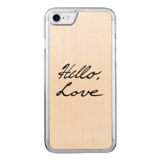 Hello Love Phone Case