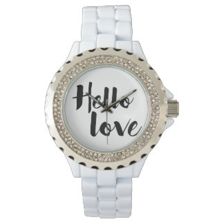 Hello Love Wristwatch