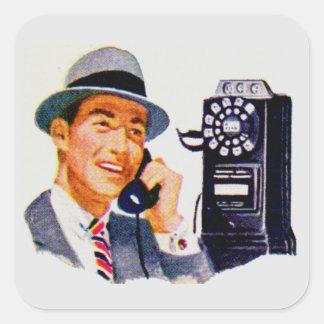 Hello, Mabel? It's Tony. Square Sticker