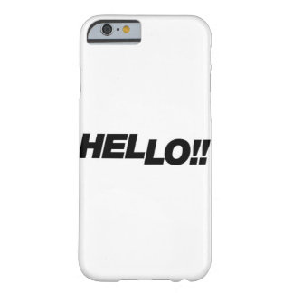 Hello mobile case