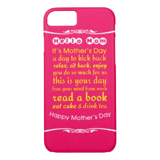 Hello Mom iPhone 7 Case