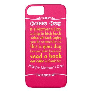 Hello Mom iPhone 7 Case
