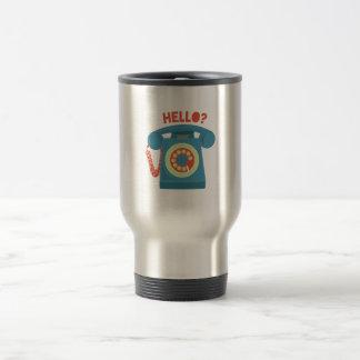 Hello? 15 Oz Stainless Steel Travel Mug
