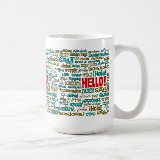 Hello (Multi Language) Mug