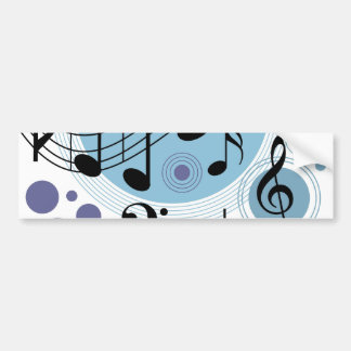 hello music bumper sticker