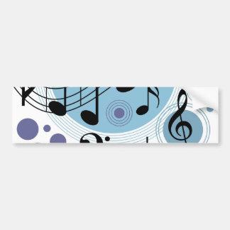 hello music bumper sticker