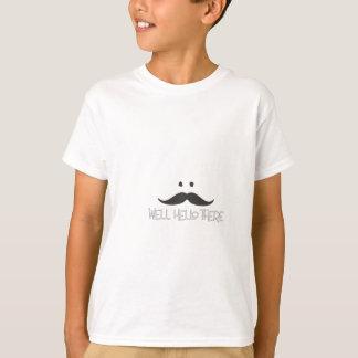Hello Mustache T-Shirt