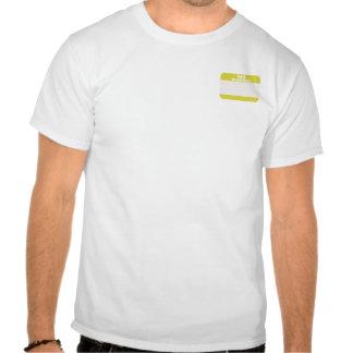 Hello My Kpop Bias Is (pocket - yellow) T-shirt