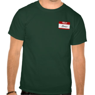 Hello My Name Is Alonso (Red) T Shirt