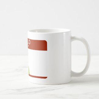 hello my name is Android Coffee Mug