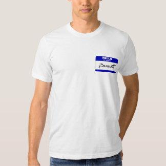 Hello My Name Is Bennett (Blue) Tshirts