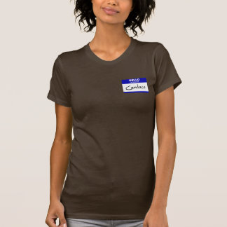 Hello My Name Is Candace (Blue) T-Shirt
