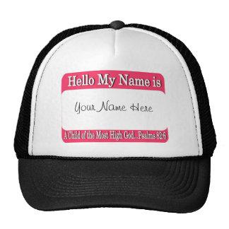 Hello My Name Is... Cap