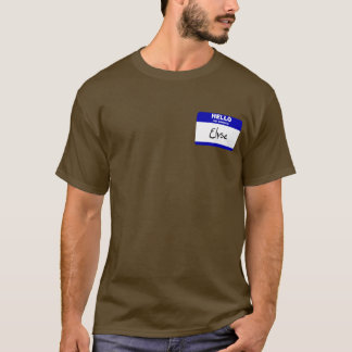Hello My Name Is Elyse (Blue) T-Shirt