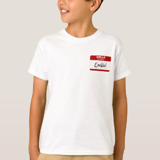 Hello My Name Is Ezekiel (Red) T-Shirt