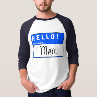 Hello! My Name Is... Fun T-Shirt