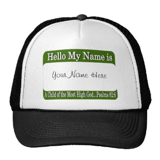 Hello My Name Is... Hats
