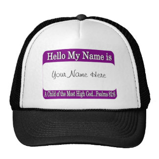 Hello My Name Is... Trucker Hats