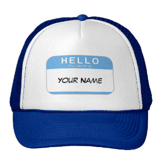 Hello My Name is Hat