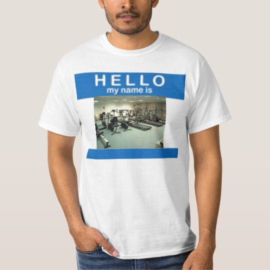 HELLO my name is JIM T-Shirt