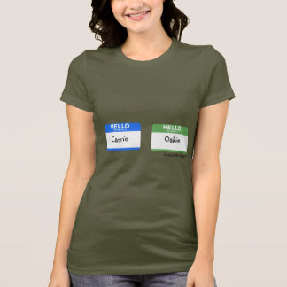 Hello My Name is...Kareoke Gag T shirts