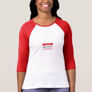 Hello.  My name is Madam Reporter. Tshirt