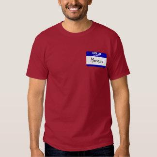 Hello My Name Is Marquis (Blue) Tshirt