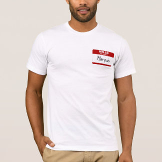 Hello My Name Is Marquis (Red) T-Shirt