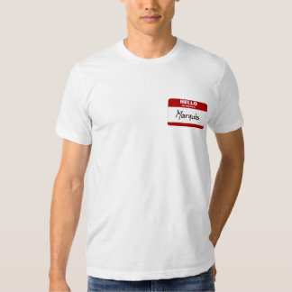 Hello My Name Is Marquis (Red) Tee Shirt