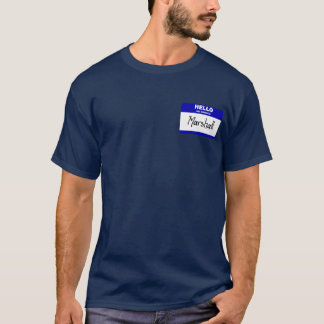 Hello My Name Is Marshall (Blue) T-Shirt
