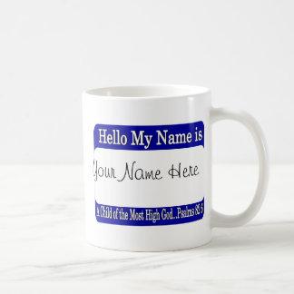 Hello My Name Is... Mugs