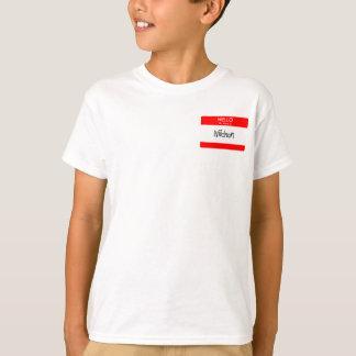 Hello My Name Is Niichan t-shirt
