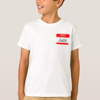 Hello, My Name is ... (red) T-Shirt