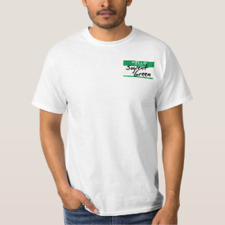 Hello, my name is Soylent Green (Economy version) T-Shirt