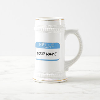 Hello My Name is Stein Mugs