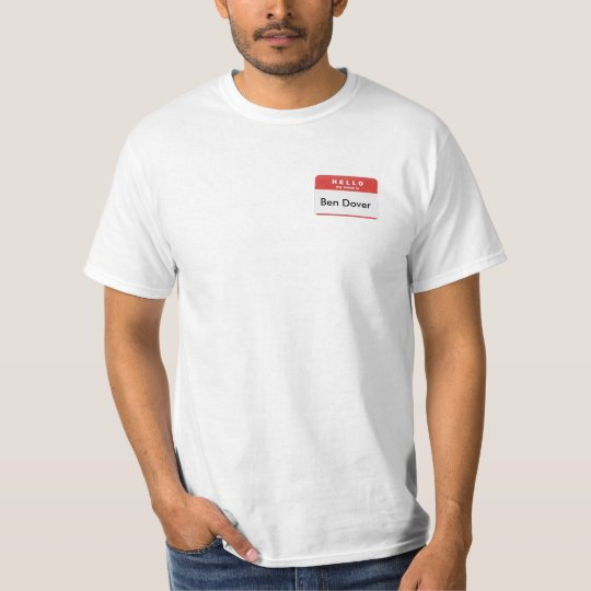 hello-my-name-is T-Shirt