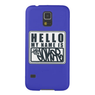 Hello My Name is the Joker Case For Galaxy S5