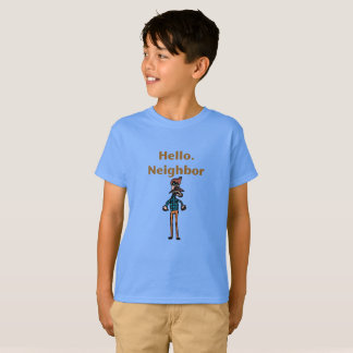 Hello Neighbor Funny kids shirt